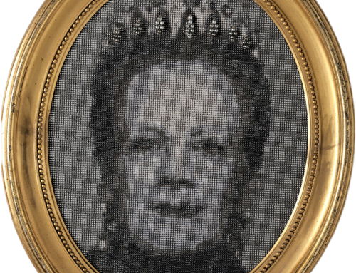 Queen of pearls – portrait